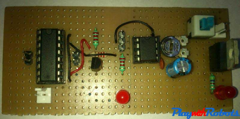 Soldered circuit -2