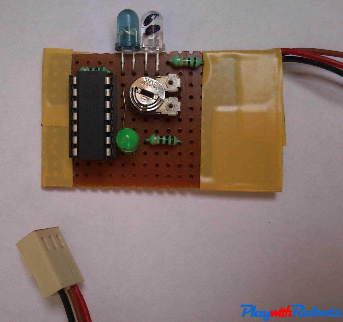Advance Line Follower Robot Simple Parking Sensor Using Lm324 Obstacle