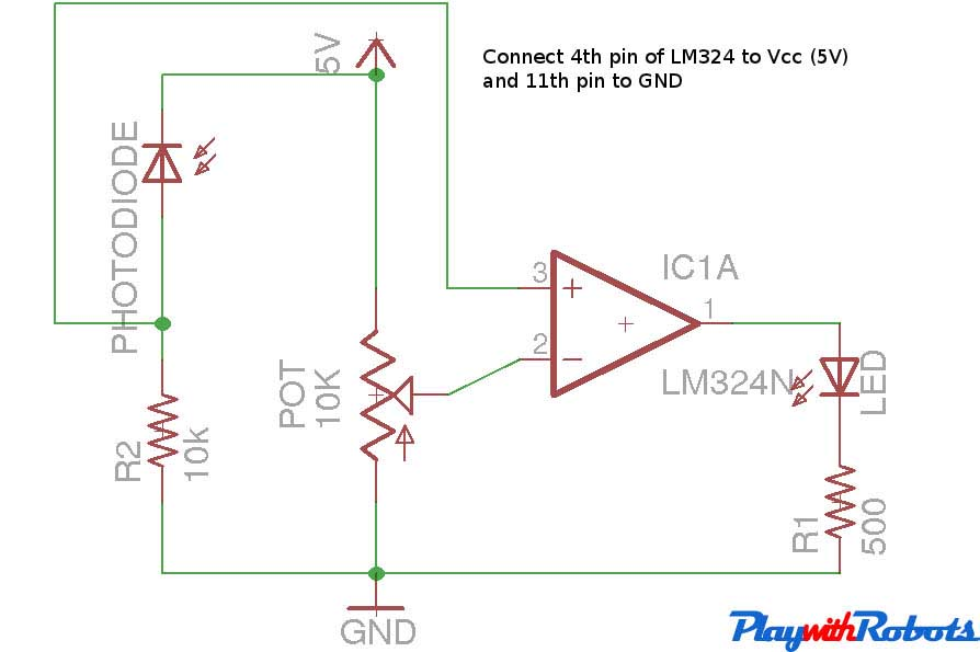 pics for gt photodiode circuit diagram